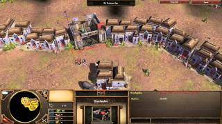 Age of Empires 3 Asian Dynasties - India - Mission 4 - Raid in Delhi Video