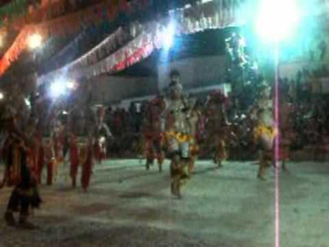 Dança Tupã 2011 - Cunhã Poranga   Santana do Maranhão