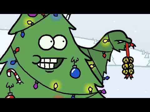 Fieser Weihnachtsbaum