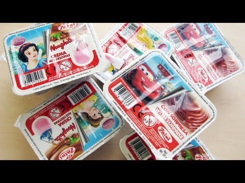 Unboxing 7 licensed Zaini surprise boxes! Disney Princess, Pixar Cars 2. Great toys inside!