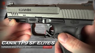 canik tp9 sf elite s unbox and field strip