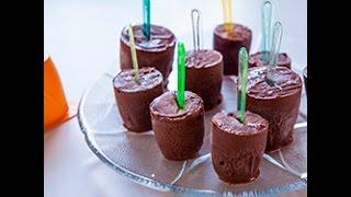 Gelatini di  mousse al cioccolato