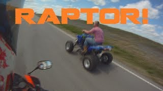 9. Yamaha Raptor Top Speed!