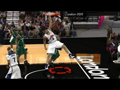 Smoove7182954 - Watch me try to replicate this epic performance from USA in the Olympics! Carmelo had a huge game for me just like he did in the real game! FIBA 2K12 is a mo...