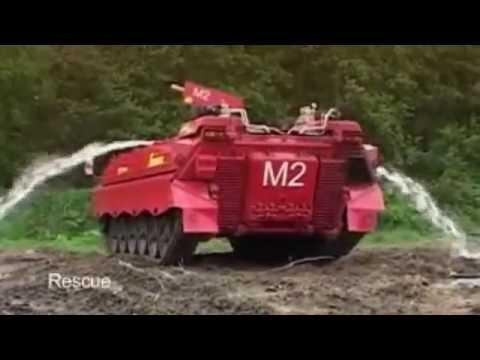 Пожарные Танки: Война Машин с Огнем