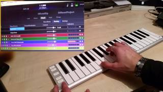 CANTABILE + Xkey AIR | switch sounds for live use [demo]