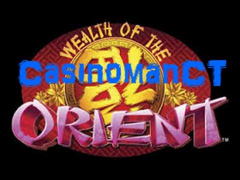 Wealth of the Orient - Konami Slot Bonus - NICE WIN!!!