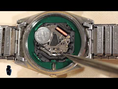 How to Remove & Replace Watch Movements видео