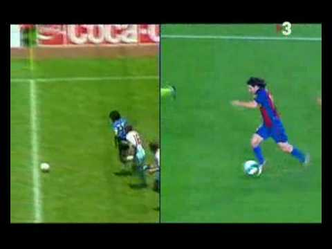 ¿Quién es el mejor jugador? ¿Maradona o Messi?