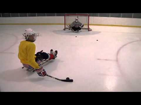 Sled Hockey Shooting and Passing