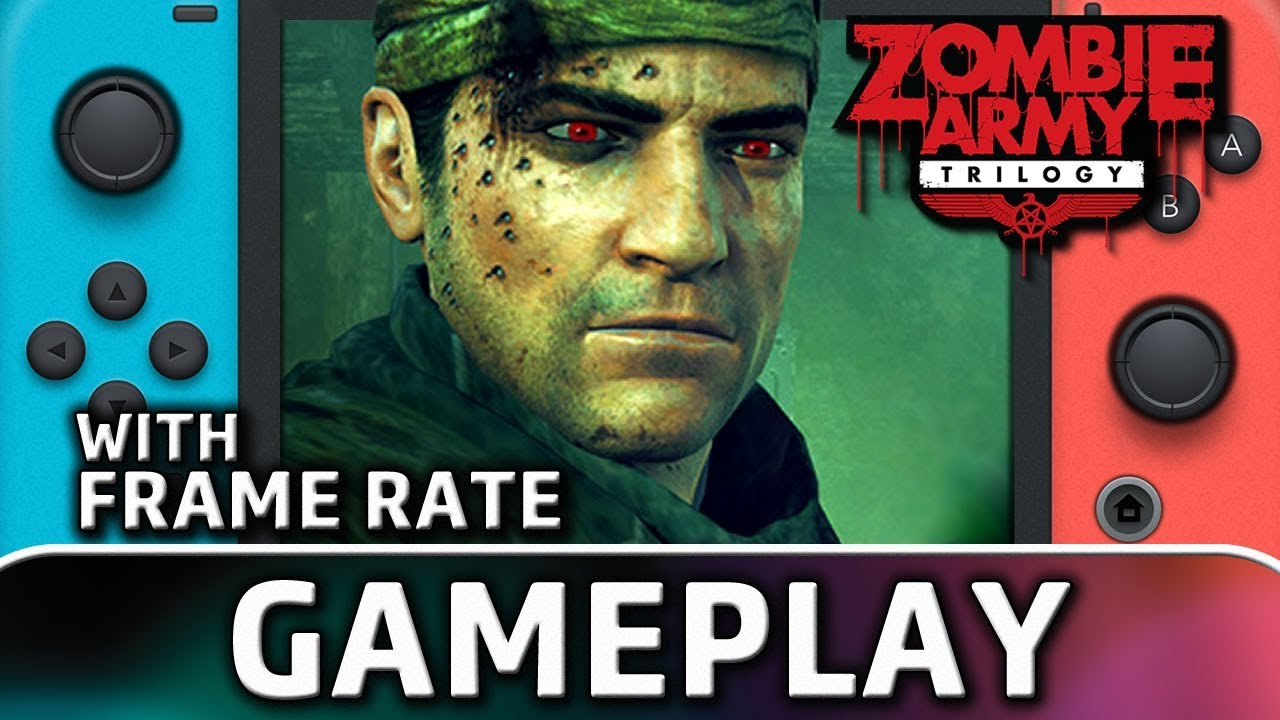 Zombie Army Trilogy | First 10 Minutes With Frame Rate on Nintendo Switch