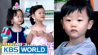Video Hilarious Daebak's reaction to his sisters' princess makeover! [The Return of Superman / 2017.07.16] MP3, 3GP, MP4, WEBM, AVI, FLV Juli 2018