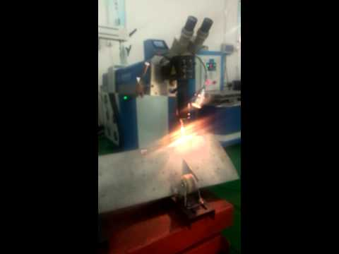 Turbo jet engine fan blade (aircraft), Laser welding repair