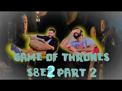 "Game of Thrones 8x2 REACTION/REVIEW!! ""A Knight of the Seven Kingdoms"" [PART 2]"
