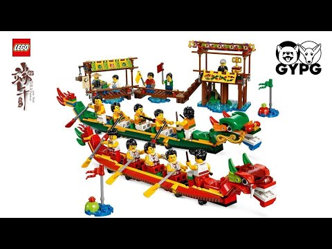 [LEGO #80103] Dragon Boat Race Speed Build Review