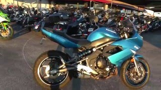 7. A47483 - 2010 Kawasaki Ninja 650R - Used Motorcycle For Sale