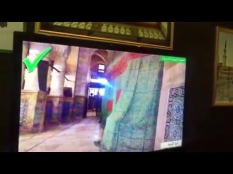 #بالفيديو : عرض لرئاسة الحرمين من داخل الحجرة النبوية يفند أكاذيب بعض المواقع