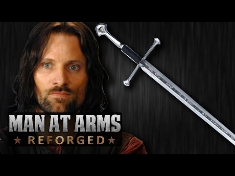 Aragorn s Sword Narsil Lord of the Rings in Real