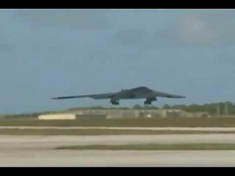Clips of U.S. Air Force B-2 Spirit...
