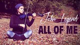 ALL OF ME (John Legend) 💿 en VIOLIN ELECTRICO!!
