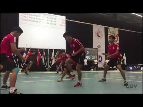 Insane Double Dutch Rope Skipping in Hong Kong