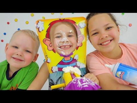 Веселые игры для детей. Балуемся с едой - DomaVideo.Ru