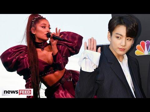 BTS' Jungkook FANGIRLS Over Ariana Grande, Stirring Up Collab Rumors!