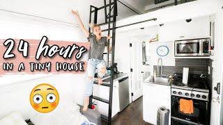 24 HOURS IN A TINY HOUSE CHALLENGE!   Aspyn Ovard by Aspyn Ovard