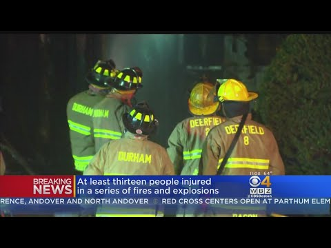 Homes Evacuated After Gas Explosions In Lawrence