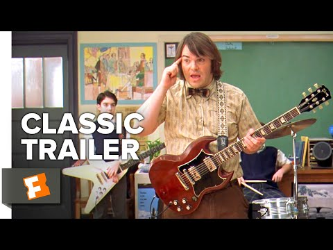 School of Rock (2003) Trailer #1 | Movieclips Classic Trailers