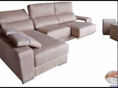sofas de tres y dos plazas y cheslongs