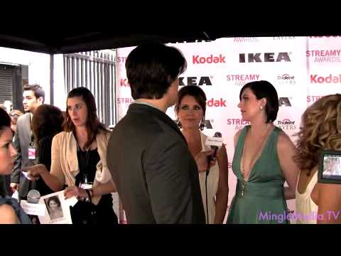 Taryn O'Neill - Mingle Media TV Covers The 2nd Annual Streamy Awards LIVE from the Red Carpet on Sunday April 11th 2010. Our correspondent Jeff Rago was on hand to interview...