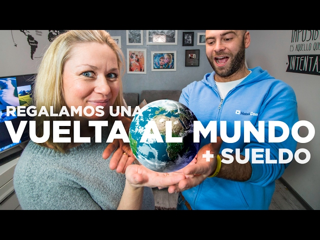 Sorteamos una Vuelta al Mundo + sueldo