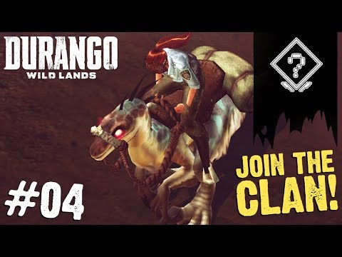 JOIN MY DURANGO CLAN! FINALLY ONLINE! | Durango: Wild Lands (Part 4)