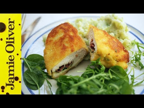 comfort - Kerryann Dunlop is back with a Chicken Kiev recipe to make your mouth water. Succulent chicken breasts stuffed with crispy bacon, garlic and parsley butter and coated in golden breadcrumbs...