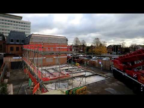 Lithuania GB 'UK delivery partners' New Revival, a project in Slough, United Kingdom completed in 4 months.