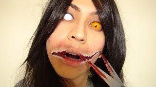 Video 口裂け女メイク方法(化粧)Kuchisake-Onna Makeup Tutorial MP3, 3GP, MP4, WEBM, AVI, FLV November 2017