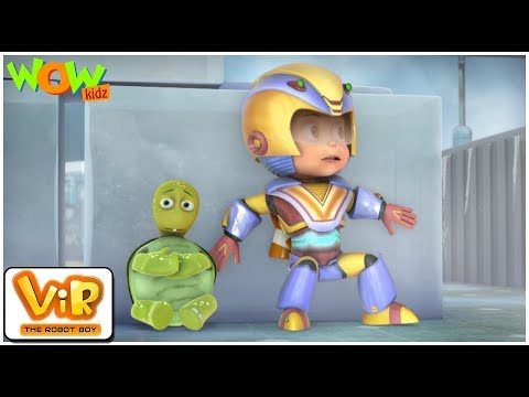 Vir The Robot Boy | Hindi Cartoon For Kids | The Turtle Alien| Animated Series| Wow Kidz