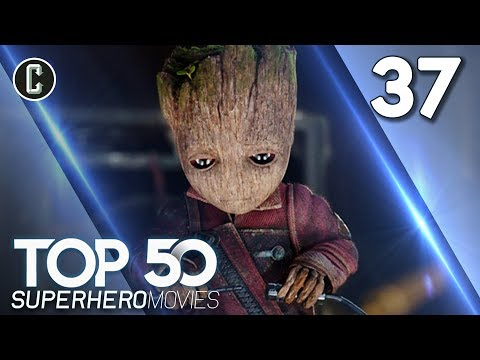 Top 50 Superhero Movies: Guardians of the Galaxy Vol. 2 - #37