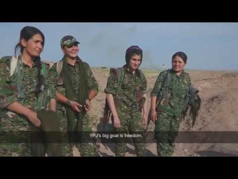 The Flowers of Rojava - A Feminist Revolution in Northern Syria (TRAILER 2 - SHORTER)