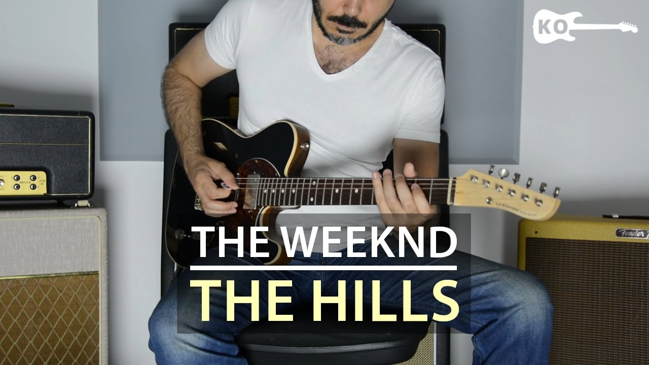 The Weeknd – The Hills – Electric Guitar Cover by Kfir Ochaion