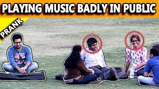 Video Playing Music Badly in Public - Pranks in India - TST Pranks MP3, 3GP, MP4, WEBM, AVI, FLV Maret 2018