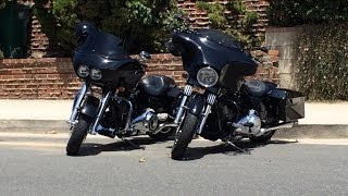 6. Harley Road Glide vs Street Glide