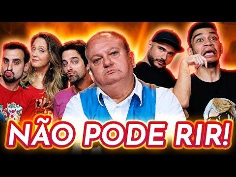 NÃO PODE RIR! TODOS contra ERICK JACQUIN! feat. Igor Guimarães