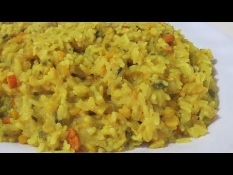 Kitchri (Split Peas Rice) -  Trinidad Cooking | Caribbean