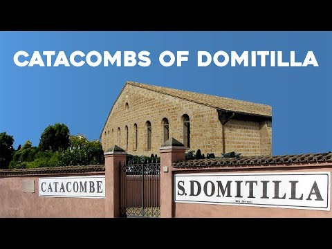 Catacombs Of Domitilla