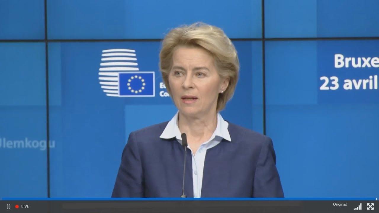 Δηλώσεις της πρόεδρου της Ευρωπαϊκής Επιτροπής, Ούρσουλα φον ντερ Λάιεν