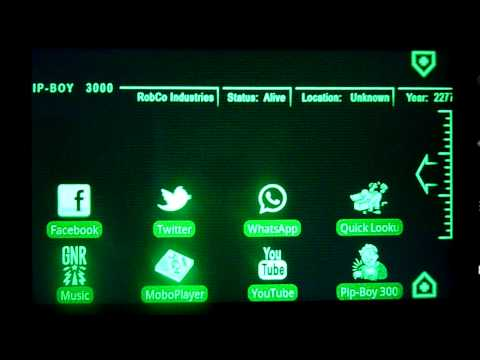 Video of PipBoy 3000 Fallout 3 Theme