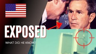 George Bush caught LYING about 9/11