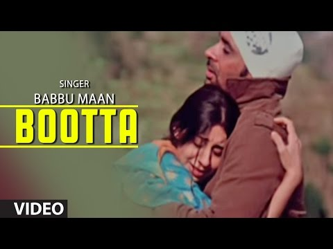 "Babbu Maan : ""Bootta"" Full Video Song 